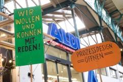 Stadtforum von unten Berlin 26/6/2017 (Photo: Till Budde)