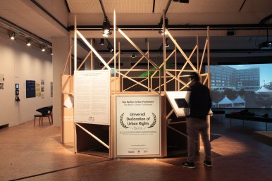 "Urban Parliament, exhibition ""Demopolis- The Right to Public Space"" @ Akademie der Künste Berlin"